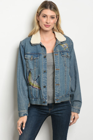 S9-20-1-J50108 BLUE DENIM JACKET 2-2-2