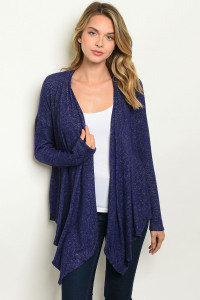 S22-1-4-C1070 PURPLE CARDIGAN 3-3-2