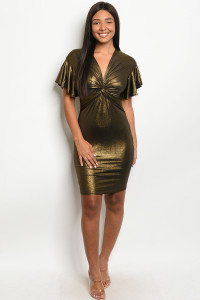SA3-4-2-D1142 BLACK GOLD DRESS 2-2-2
