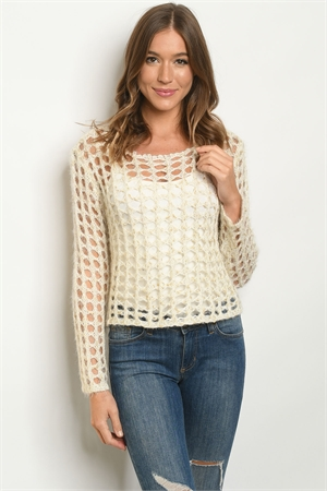 S11-18-1-T0305 NATURAL GOLD SWEATER 4-2