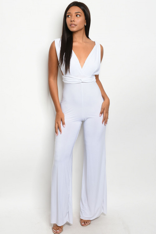 C18-A-4-J4278 WHITE JUMPSUIT 2-2-2