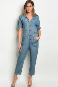S22-1-4-J4174 DENIM BLUE JUMPSUIT 3-2-2