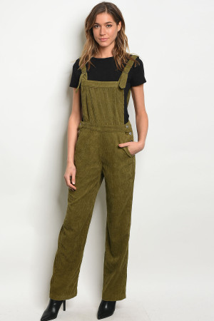 S22-1-4-O4247 OLIVE OVERALL 1-3-2