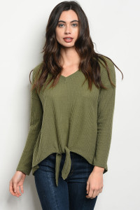 S22-6-5-T5057 OLIVE TOP 3-2-2