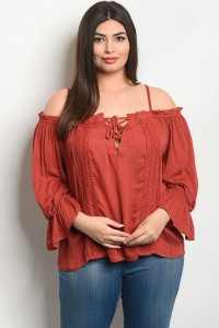 S11-13-3-T3972X EARTH PLUS SIZE TOP 2-2-2