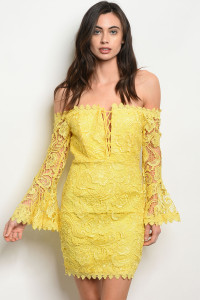 S22-3-4-D3904 YELLOW DRESS 3-2-1