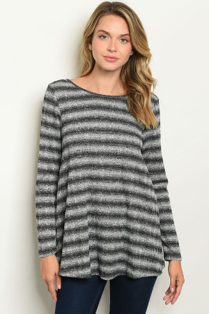C75-B-1-T5502 GRAY BLACK TOP 2-2