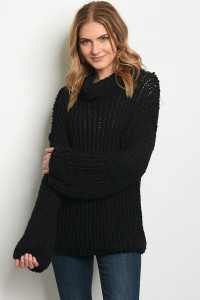 S13-3-1-S6251 BLACK SWEATER 3-3