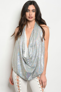 S15-2-4-T10041 SILVER WITH SEQUINS TOP 3-3