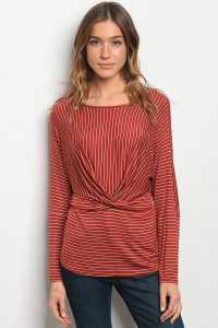 C77-B-2-T2137 EARTH STRIPES TOP 2-2-2