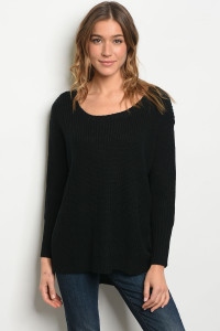 136-1-2-S3220 BLACK SWEATER 3PCS