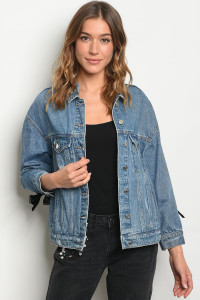 S20-12-1-J5179 BLUE DENIM JACKET 4-2-1