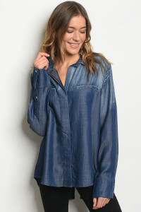 S15-5-3-T3270 BLUE DENIM TOP 2-2-2