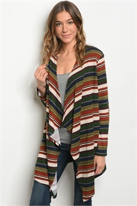 C90-A-5-C78461 EARTH MULTI CARDIGAN 2-2-2