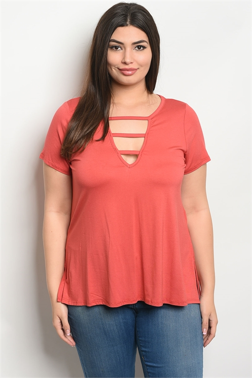 C43-B-6-T8052X EARTH PLUS SIZE TOP 2-2-2