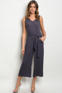 S17-6-2-J1971 NAVY WINE JUMPSUIT 1-1-1