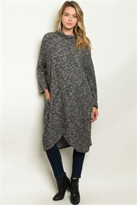 C56-A-5-S50062 CHARCOAL SWEATER 2-2-2