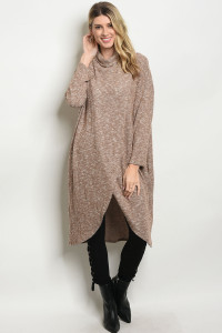 C64-A-5-S50062 TAUPE SWEATER 2-2-2