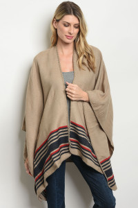 S11-11-2-C160002 TAUPE NAVY CARDIGAN 4-2