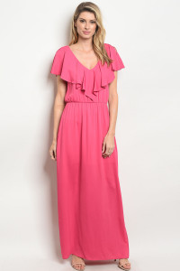 C83-A-6-D8769 FUCHSIA DRESS 3-2-1