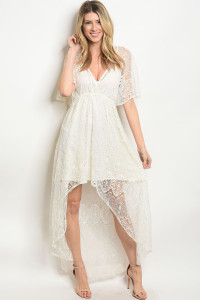 S18-11-2-D42338 OFF WHITE DRESS 3-2-1