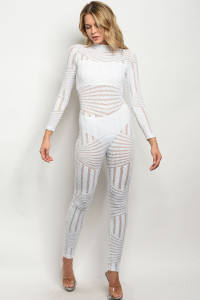 S23-12-6-J8010P1 WHITE WITH SEQUINS JUMPSUIT 2-2-2