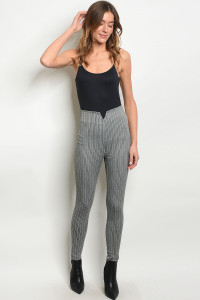 C70-A-1-P0027 GRAY STRIPES PANTS 1-1-2