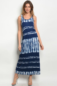 C73-A-5-D7221 NAVY WHITE DRESS 2-2-2