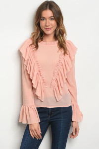 S22-13-4-T1231228 BLUSH TOP 2-2-2