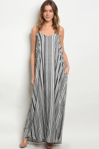 S10-8-1-D11453 BLACK OFF WHITE DRESS 2-2-2