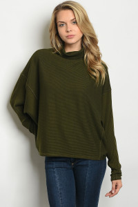 S14-9-5-T1272 OLIVE TOP 2-2-2