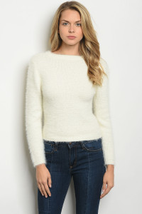 S11-12-5-S0030 IVORY SWEATER 3-2-1