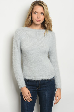 S17-10-3-S0030 GRAY SWEATER 4-2-1