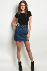 S9-13-2-NA-S74253 BLUE DENIM SKIRT 1-2-2-1