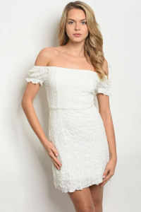 S11-9-5-NA-D73258 OFF WHITE DRESS 1-2-2-1