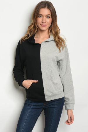 S9-16-2-NA-S71287 BLACK GRAY SWEATER 2-2