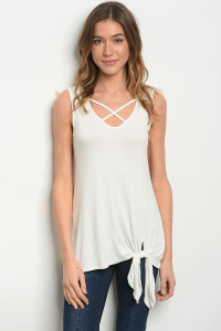 C84-A-2-T2098 OFF WHITE TOP 2-2-2