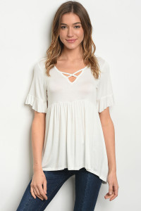 Y-B-1-T2066 OFF WHITE TOP 2-2-2
