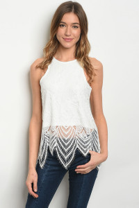 S14-12-2-T2380 OFF WHITE TOP / 4PCS