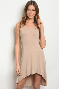 C72-A-5-D1205 TAUPE DRESS 2-2-2
