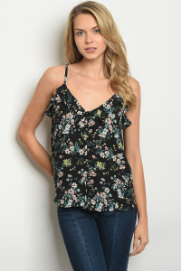 5c709721fbe S10-4-1-T1404 WHITE WITH FLOWER EMBROIDERY OFF SHOULDER TOP 2-2-2