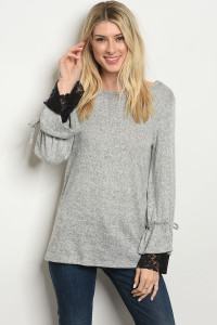 C92-B-2-T4203 GRAY BLACK TOP 2-2-2-1