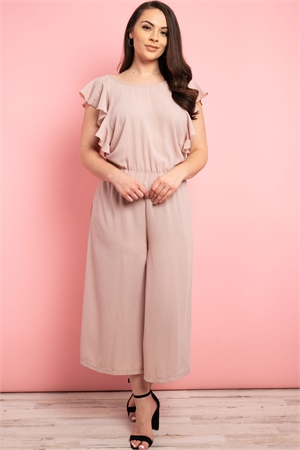 S10-7-2-J5666X BLUSH PLUS SIZE JUMPSUIT 2-2-2