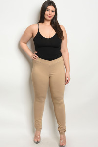 SA4-0-1-L4810X KHAKI PLUS SIZE PANTS 2-2-2