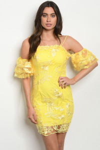 S19-10-3-D13695 YELLOW DRESS 3-3-2