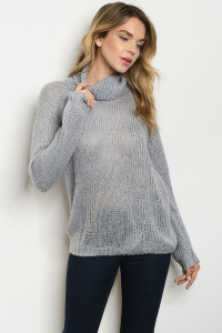 S8-1-4-S0411 GRAY SWEATER 3-2-1
