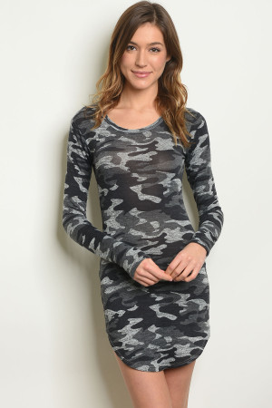 S10-9-3-D1512 GRAY CAMOUFLAGE DRESS 2-2-2