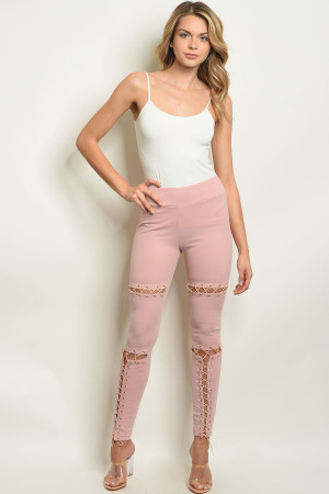 S13-2-1-L7081 PINK LEGGINGS 3-2-1