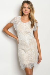 S9-5-5-D3000 WHITE NUDE DRESS 3-2-1