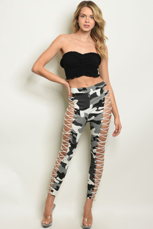 S19-11-3-P21390 GRAY CAMOUFLAGE PANTS 3-2-2